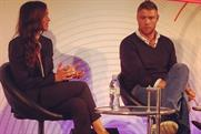 AWEurope: Victoria Pendleton and Freddie Flintoff debate on the opening day