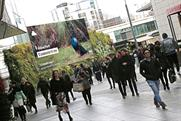 Persil: directs Westfield London shoppers to nearby Holland Park