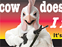Peta: gun-toting chicken