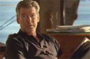 Brosnan: ad for L'Oreal