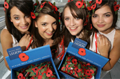 Poppy Appeal: mobile donation request