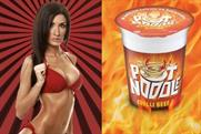 "Pot Noodle: the ASA ruled comparing a semi-naked woman with Pot Noodle was ""offensive"""