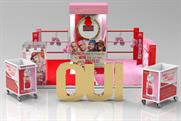Revlon creates punch bag activation for Juicy Couture fragrance