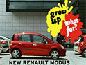 Renault: ad for the new Modus