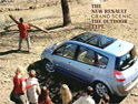 Renault Scenic: 'outdoor type' ad