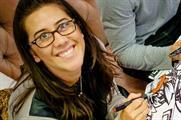 Ribena's senior brand development manager, Emmeline Purcell, at the brand's Colouring Café