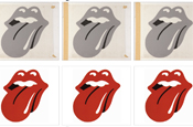 Rolling Stones: artwork by John Pasche
