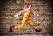 Ronald McDonald: gets a revamped image ahead of social media campaign