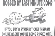 Ryanair ad: passengers to lose flight bookings
