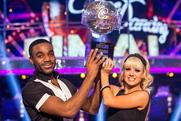 Strictly Come Dancing winners Ore Oduba and Joanne Clifton: picture credit, BBC Pictures