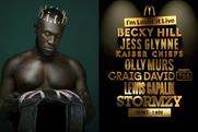 McDonald's taps Stormzy, Jess Glynne and more for half-term entertainment