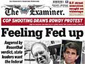 Examiner: turning freesheet