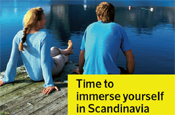 Scandinavian Airlines: to promote Scandinavia as summer holiday destination