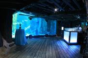 Spaces within Sea Life London Aquarium are available for hire