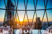 Searcys at The Gherkin is home to London's highest private members club