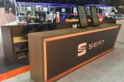 Seat stages T-Shirt printing activation at Geneva Motor Show
