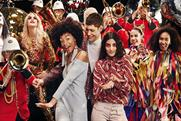 Selfridges revives cannon confetti for Christmas extravaganza