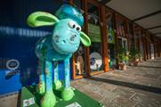 The Shaun the Sheep game is part of Green Capital of 2015 Bristol's schools programme