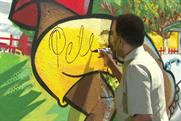 Pele: Brazilian footballing legend signs wall of state-of-the-art pitch in Rio favela
