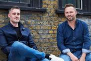 (L-R) Duncan McCaslin and Oliver Burgoyne at Sidekick Group's Shoreditch headquarters