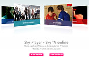 Sky Player: promotion push for relaunched service