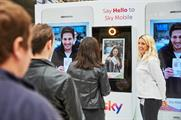 Sky Mobile activates at London train stations