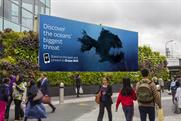 WCRS reveals oceans' biggest danger with high-tech outdoor screens