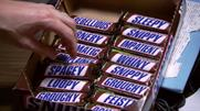 Snickers: introduces playful packaging