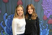 Director duo: Charlotte Walters (left) and Emma Banks
