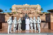 Six stormtroopers visited Abu Dhabi in the lead up to today's (16 December) regional premiere
