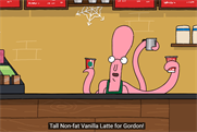 Starbucks launches animated web series