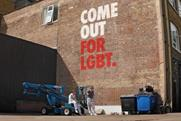 Stonewall ad: the group has reignited its fight for diversity and inclusion