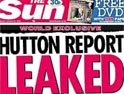 The Sun: claimed it was told report details over the phone