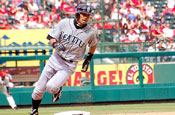 Suzuki: player for the Seattle Mariners