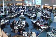 Telegraph Media Group's hub newsroom