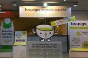 Teapigs stages window takeover at Whole Foods