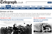 Telegraph: launches Britain at War
