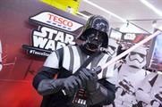 Tesco hosted Star Wars experiences within 268 of its stores