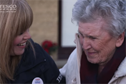 Tesco reunites divided families for Christmas in last-minute ad campaign