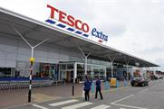Tesco drops 'hopeless' application to trademark blue dashes under its logo