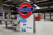 Buxton Water: sponsored Canada Water station during the London Marathon