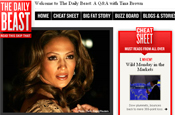 The Daily Beast: online mag from Tina Brown
