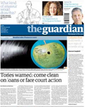 The Guardian: drops 3.03%