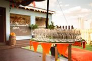 The Aperol Spritz Shack is swapping cash for oranges (@thegundocklands)