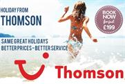 Thomson Holidays: the tour operator will be phased out in favour of parent brand TUI