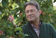 Alan Titchmarsh: stars in TV campaign promoting British apples at Waitrose