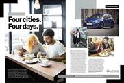 Lexus is running an editorially led campaign in the UK