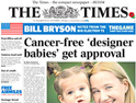 The Times: compact only