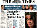 The Times: tabloid not hitting Indy sales