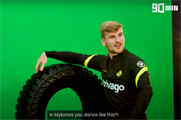 Timo Werner: Chelsea star shows off moves in 'fake' Yokohama spot